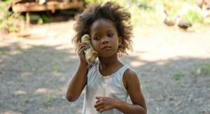 "Quvenzhané Wallis. A still from the film ""Beasts of the Southern Wild"""