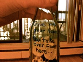 Artist's Way Wrap Up: How to create a fear jar and why you should stop being ridiculous